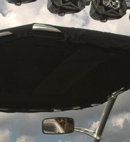 Солнцезащитный тент-багажник для катера Cargo Bimini